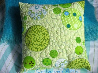 Circle/bubble cushion | by catherine's attic