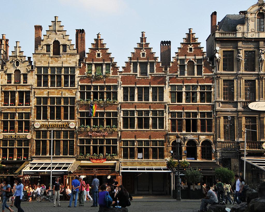 Belgian Architecture | Anterwerp city center in Belgium ...
