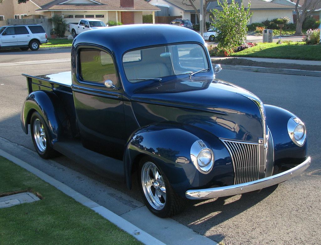 1940 Ford Pickup Truck - A High Class Custom Restoration ...