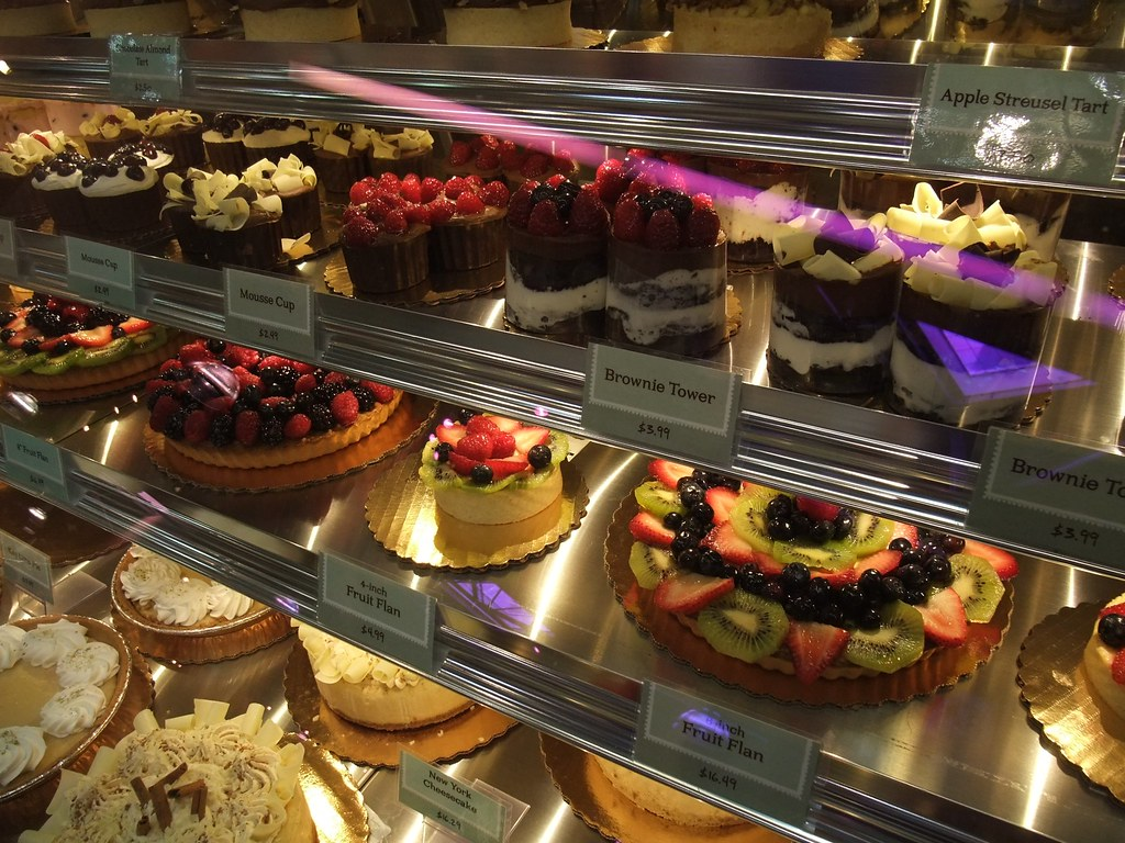 Gorgeous Cakes Parfits In The Bakery Of Giant Eagle Market District Kingsdale By