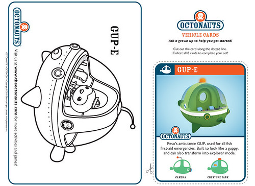 octonauts coloring pages dashi granules - photo#13