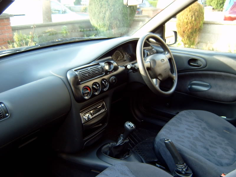 1995 Ford Escort Mk6 Interior August 2008 The Inside