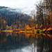 Fall on the Coeur d'Alene River
