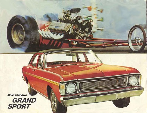 1969 ford xw falcon gs brochure xw falcon with the