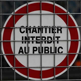 CHANTIER INTERDIT AU PUBLIC | by Leo Reynolds