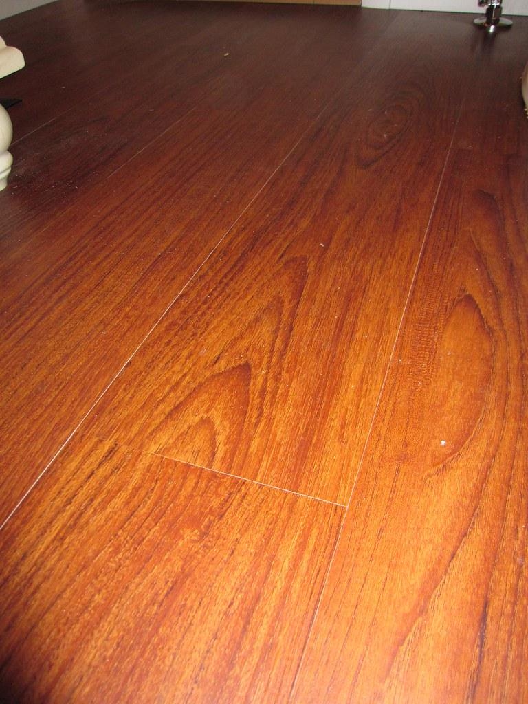Cherry Flooring In Kitchen