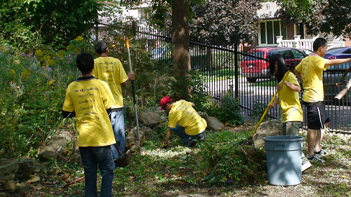 GV volunteers in garden | by Hamilton Conservation Authority