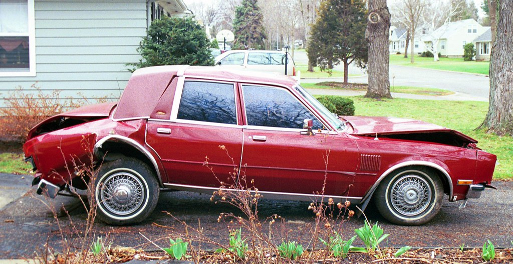 1986 Chrysler Fifth Avenue I Was Sitting In Stopped