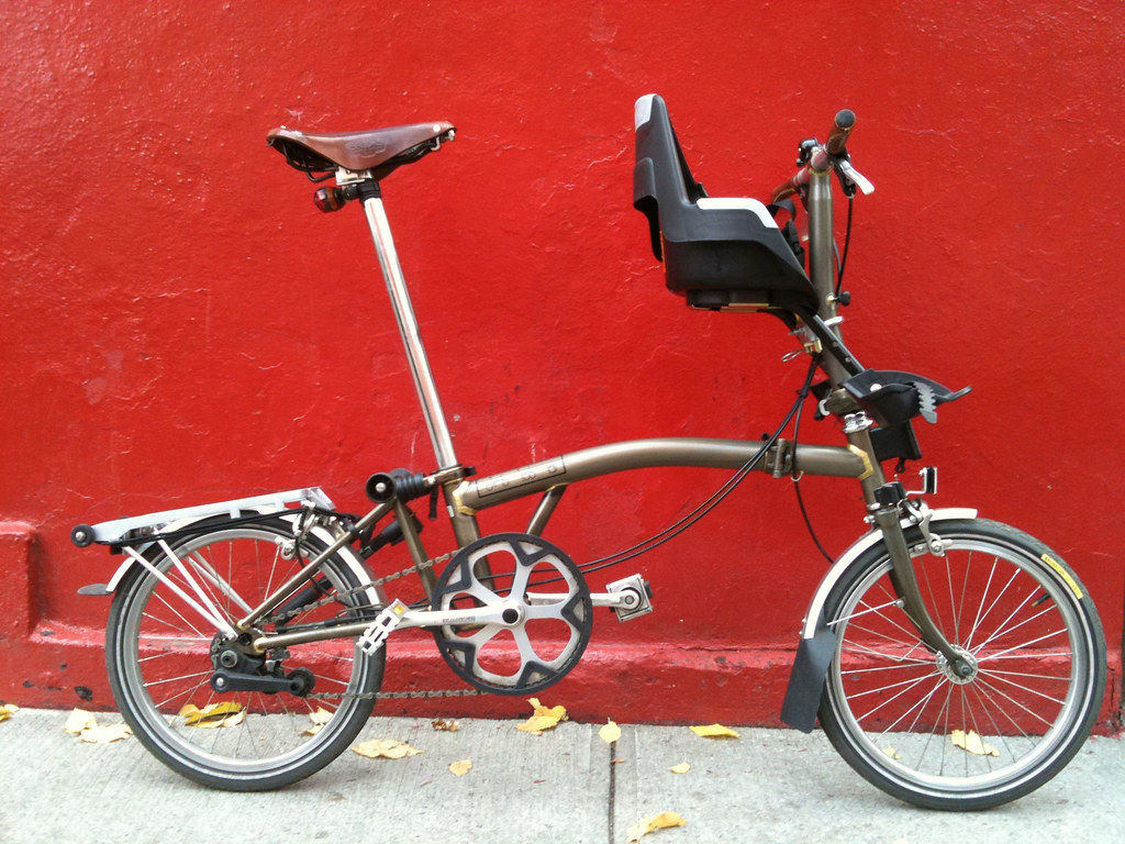 Bobike Brompton Dbeeby Flickr
