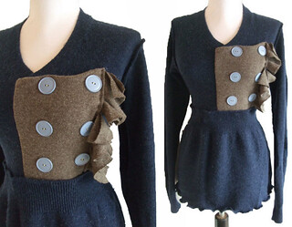 Recycled Wool Sweater | by RebeccasArtCloset