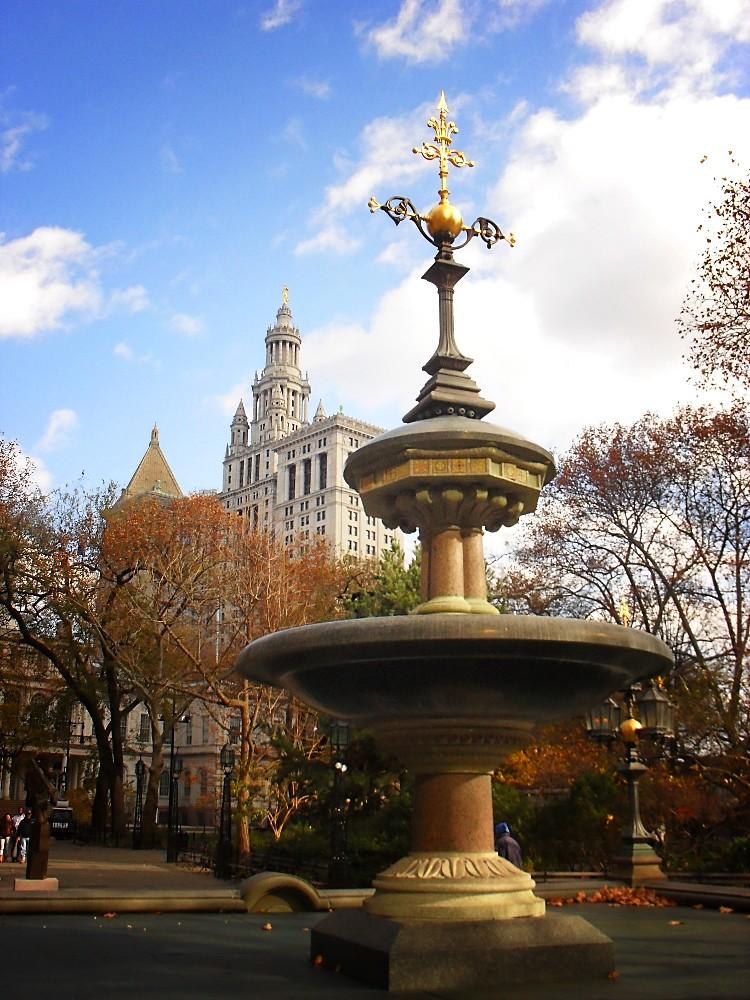 City Hall Park, Civic Center, New York City 5