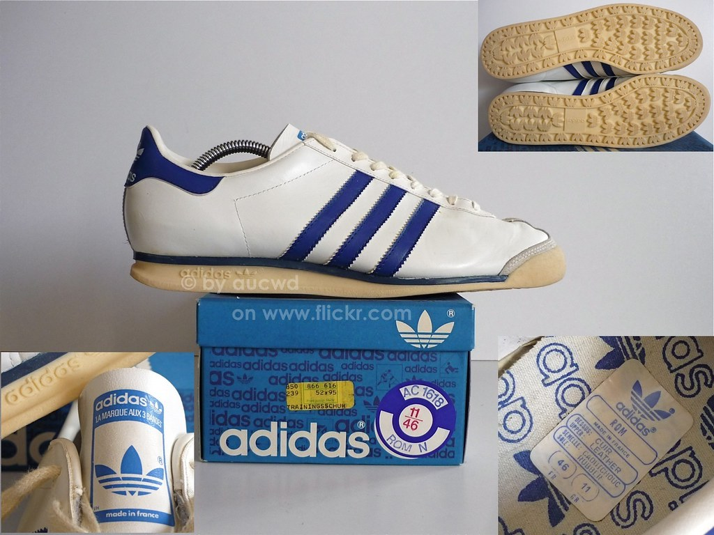 ... 70`S / 80`S VINTAGE ADIDAS ROM SHOES | by aucwd