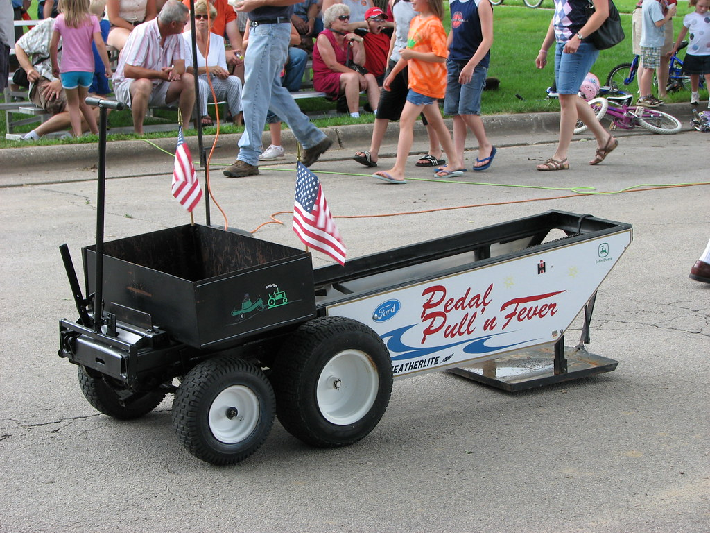 Tractor Pull Sled Flag : Pedal tractor pull sled lms pics flickr