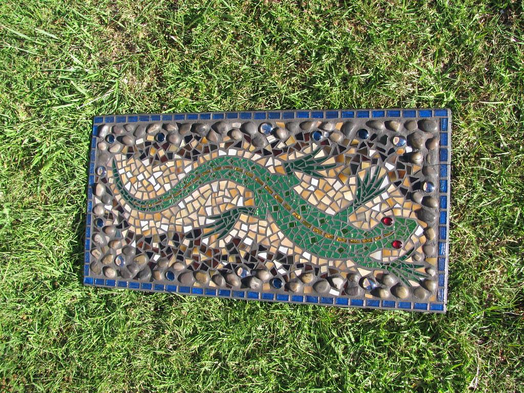 Mosaic Lizard Mosaic Lizard Diane Kitchener Flickr