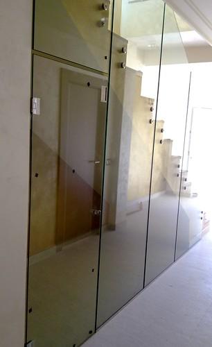 Puerta templada en el hueco de la escalera puerta for Cristaleria benissa