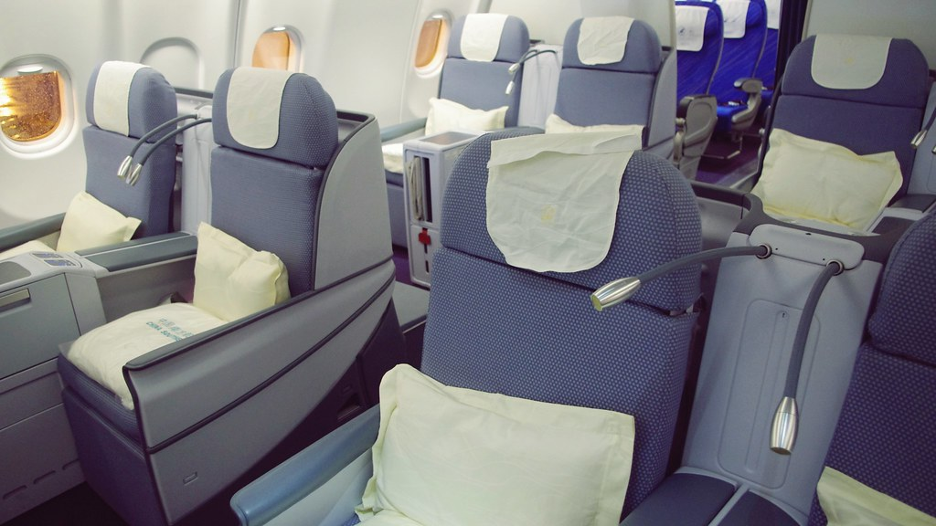 China southern business class in a330 200 matt twn flickr - China southern airlines hong kong office ...