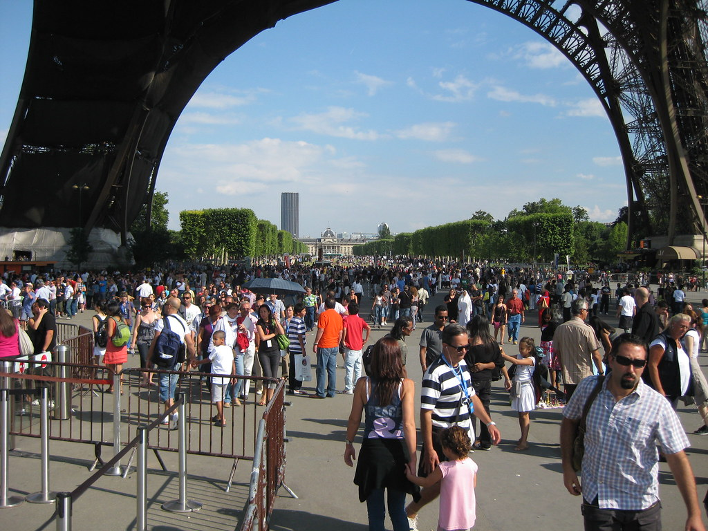 Image result for peoples in Eiffel tower