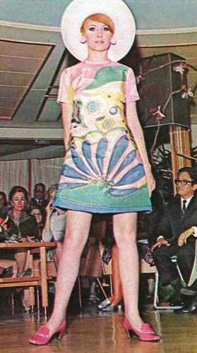 Pucci Pucci Model In A Fashion Show Brazilian Magazine O
