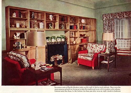 Late 1940 39 s living room bill taylor flickr for Living room 1940