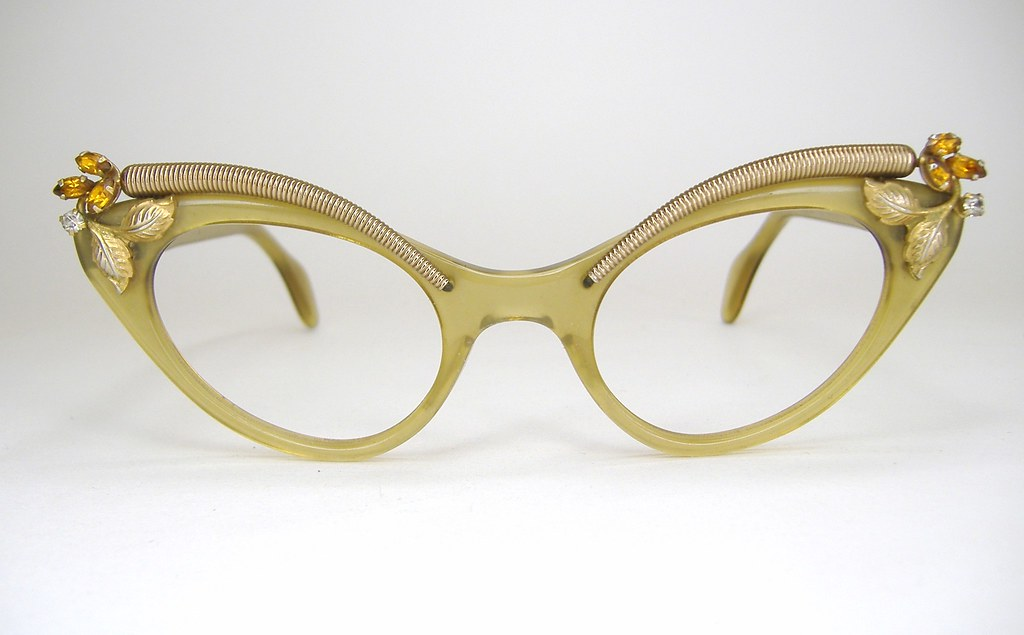 Vintage Cat Eye Prescription Glasses