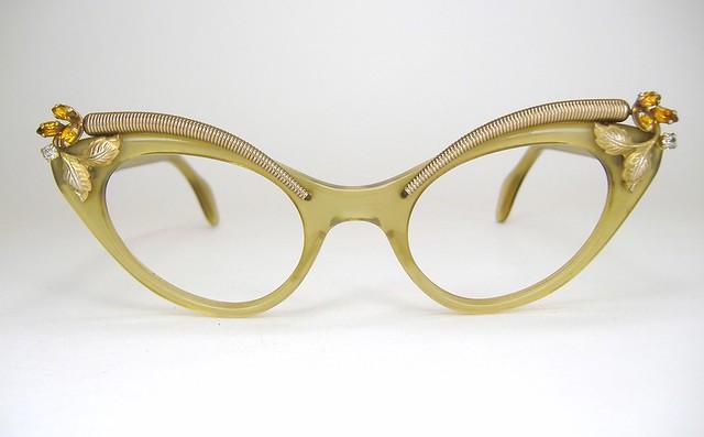 Cat Eye Rhinestone Eyeglass Frames : Vintage Schiaparelli Rhinestone Cat Eye Eyeglasses Eye ...