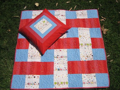 Stacked Quilt - top with pillow | by Disentangled