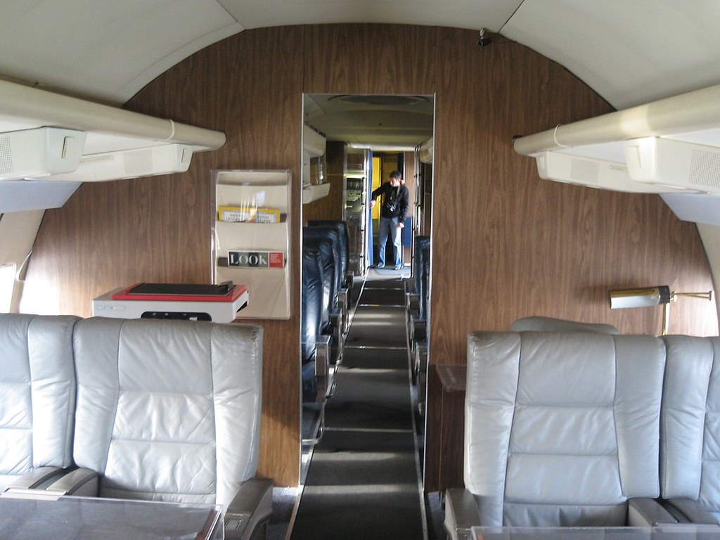Main Cabin Boeing Vc 137b 707 120 Sam 970 Quot Air Force One
