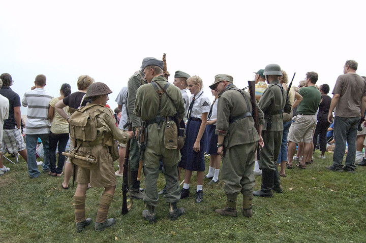 2010 d day reenactment in conneaut conneaut kid flickr