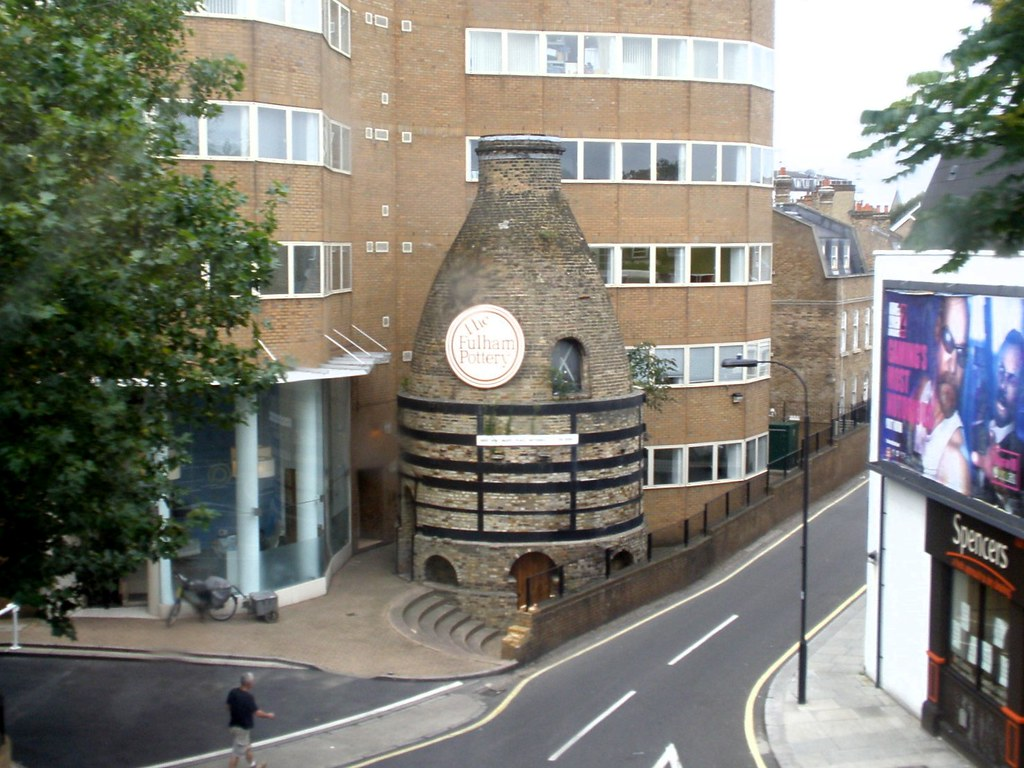 Bottle Kiln at 210, New Kings Road, Fulham The view from … Flickr