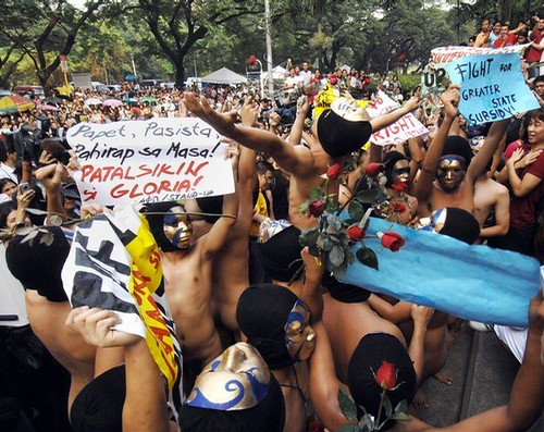 PHILIPPINES-NUDE-PROTEST-RIGHTS | by manila.photo