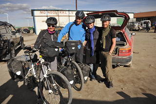 Us & New Cycle Touring Friends | by goingslowly