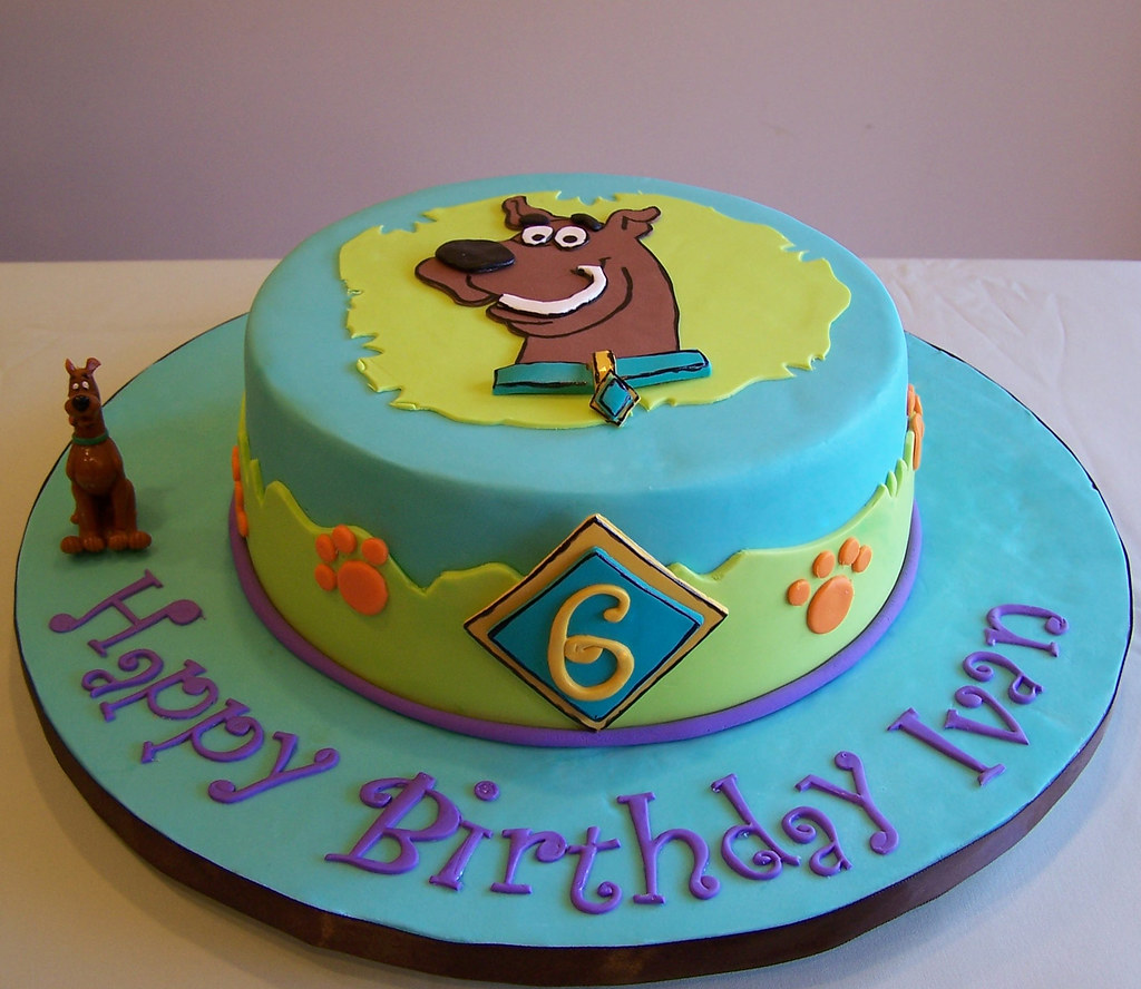 This Was A Last Minute Order For A Scooby-…