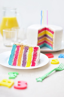 Rainbow Cake | by vika.rayu