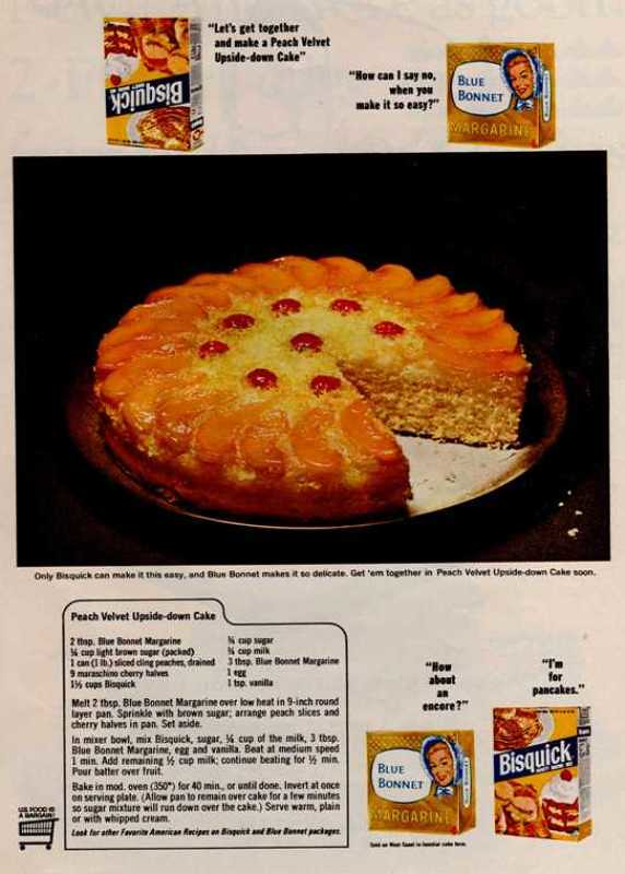 Bisquick Peach Upside Down Cake