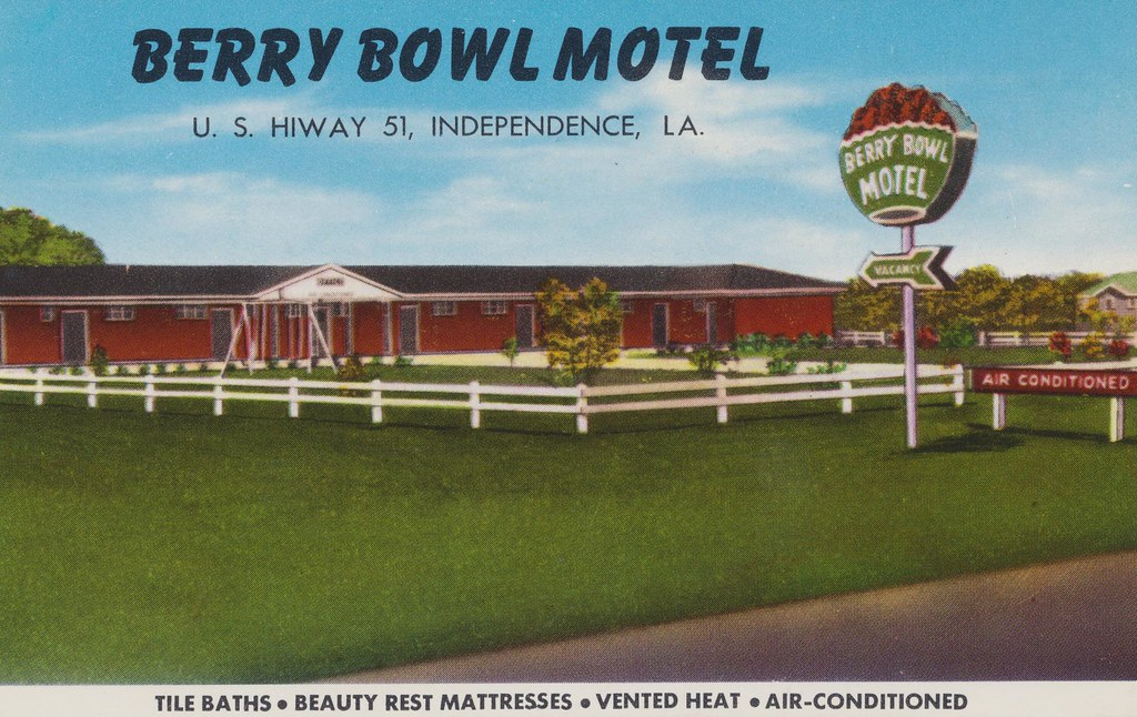 Berry Bowl Motel and Cafe - Independence, Louisiana