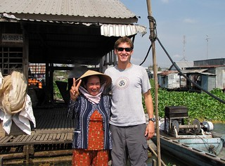 Greg and Caman on Fish Farm - Greg Is A Bit Taller | by FollowOurFootsteps