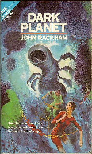 John Rackham - Dark Planet - Ace Double 13805 - cover artist Jack Gaughan