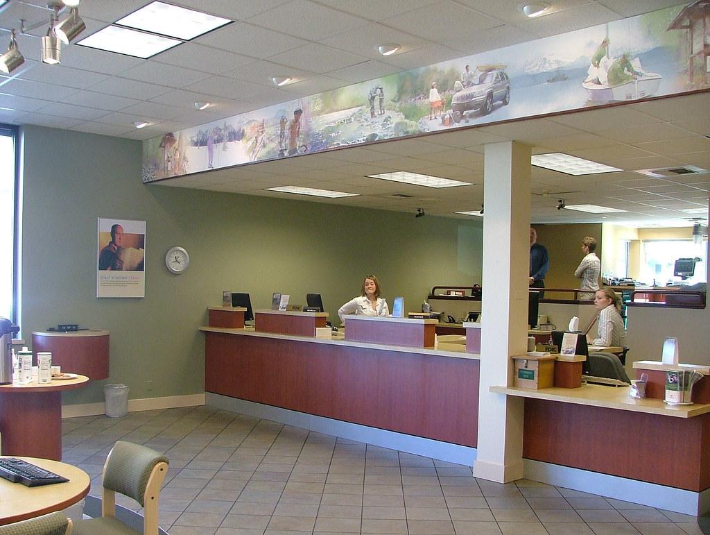 After Interior Bank D 233 Cor Bank Teller Design Custom Ba Flickr