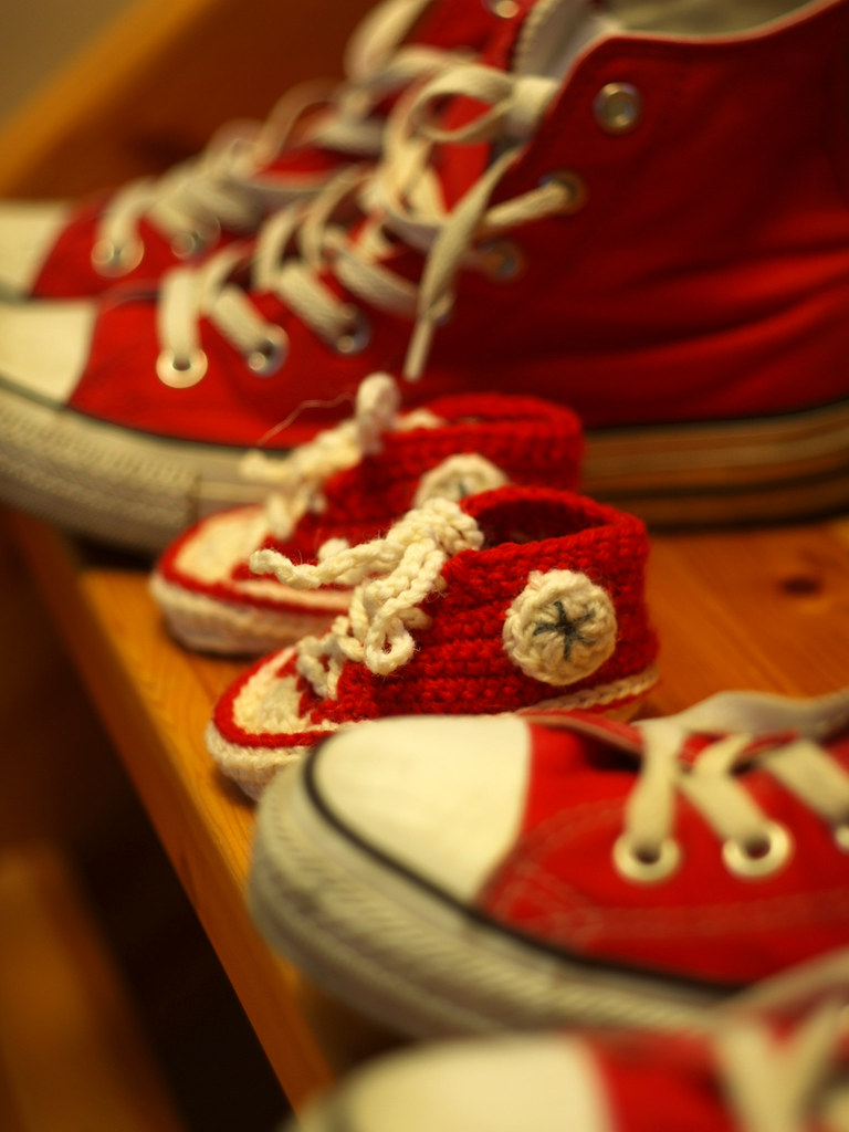 Crochet Baby Converse Shoes Pattern Free