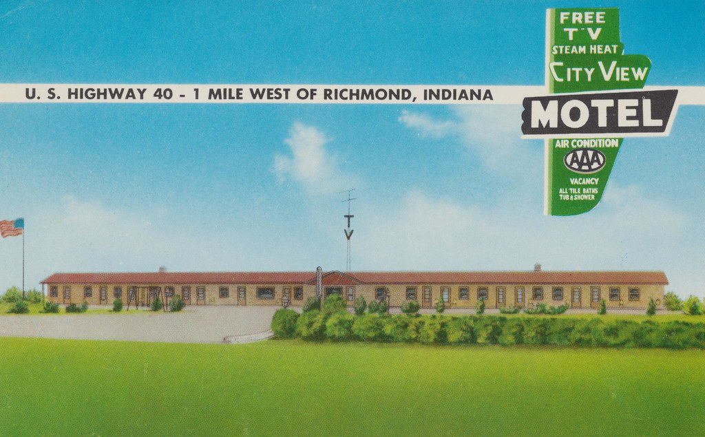 City View Motel - Richmond, Indiana