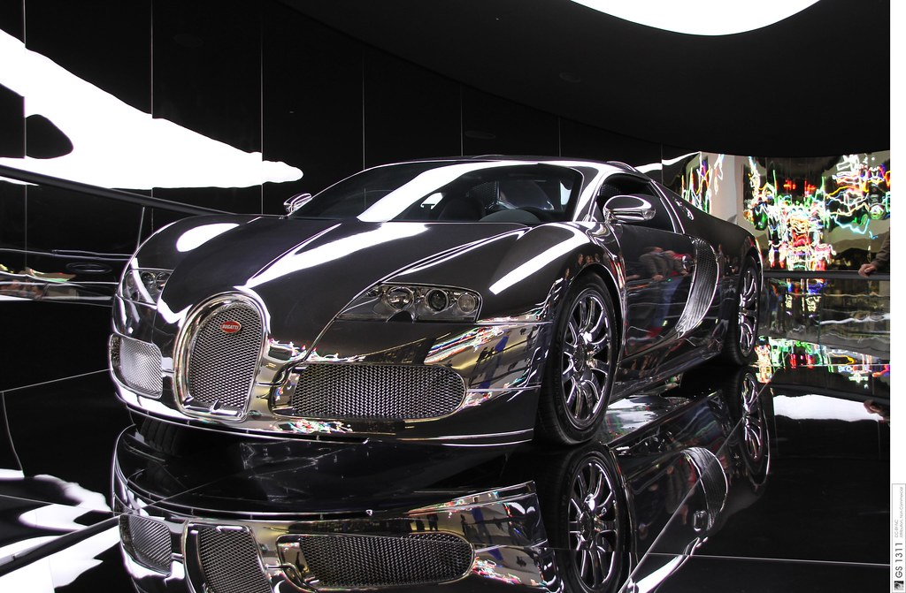 2008 Bugatti Veyron 16 4 Mirrored Verspiegelt 03 Flickr