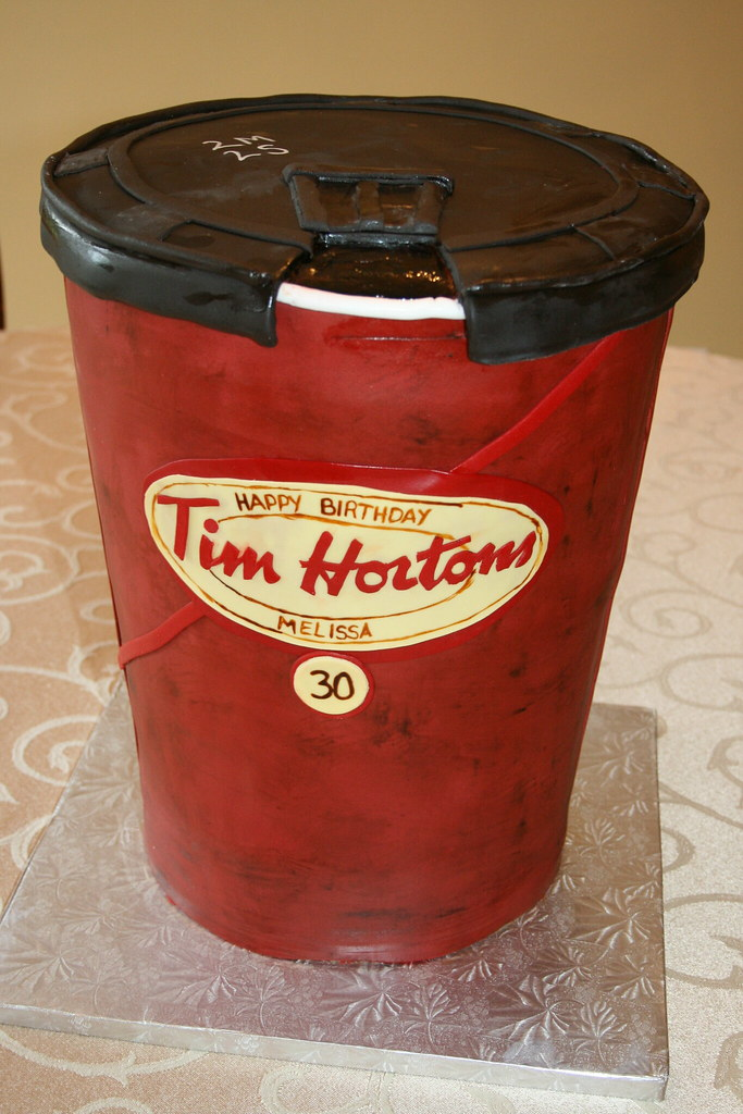 Tim Hortons Cup Cake This Was Made For A Tim Hortons Lover Flickr