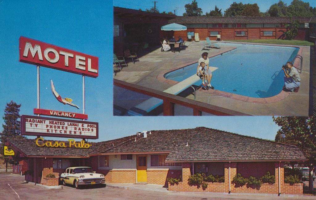 Casa Palo Motel - Palo Alto, California