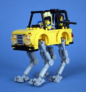 Cheerleader Battle Mecha-Jeep 04 | by Happy Weasel