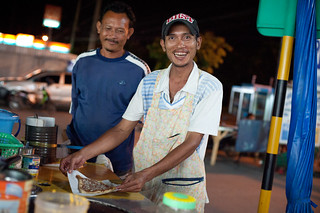 Thai Crepe Maker Proud of His Work | by goingslowly