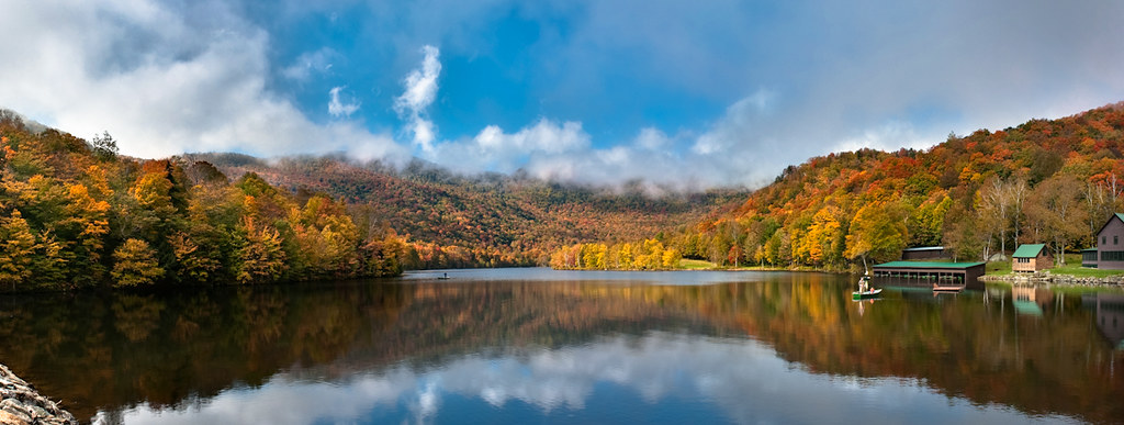 Lake Mansfield Trout Club In The Fall David Flickr