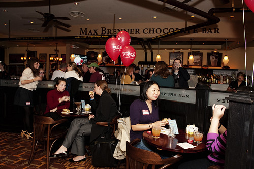 yelpie the chocolate factory at max brenner philadelphia flickr. Black Bedroom Furniture Sets. Home Design Ideas