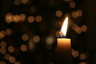 Christmas Eve candle | by Wysz