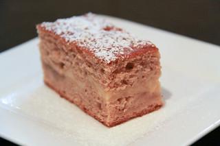 Rhubarb Custard Cake From Scratch