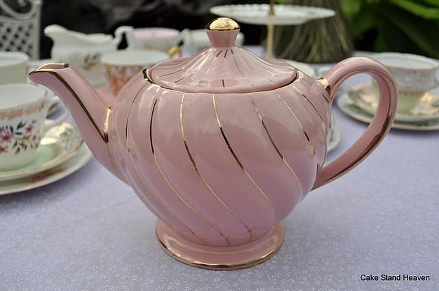 Pink Teapot Vintage Sadler Flickr Photo Sharing